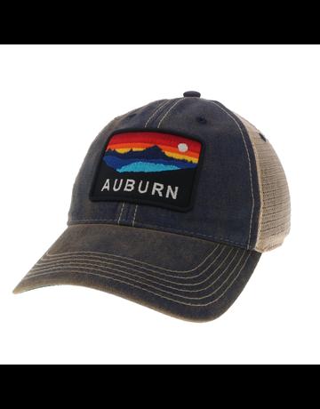 Legacy Auburn Panoramic Sunset Old Favorite Trucker Mesh Hat