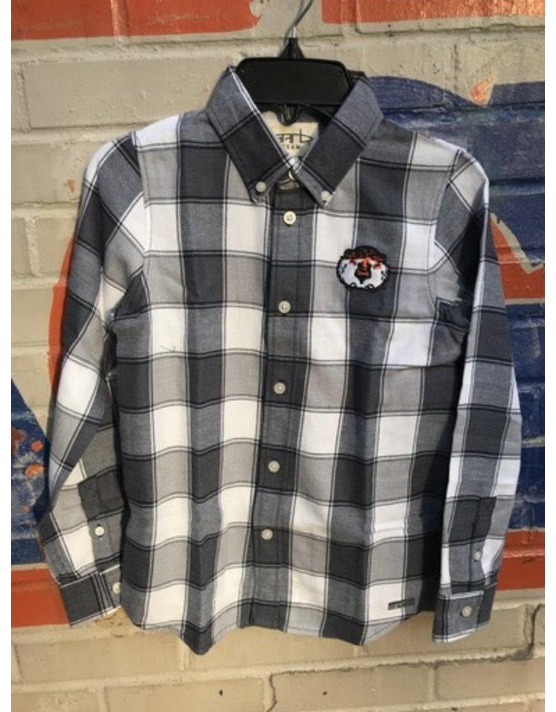 Garb New Aubie Cooper Youth Flannel Button Up