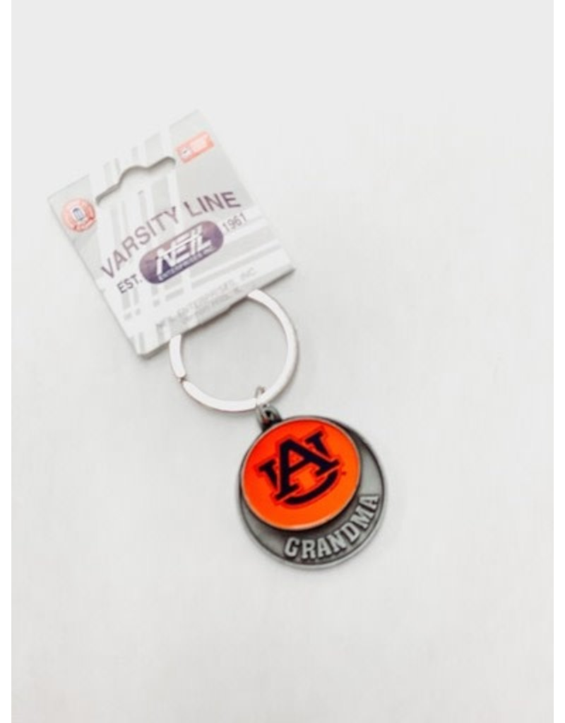 Neil Enterprises Orange Imprint Keychain