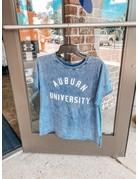 University Girl Arch Auburn University Cropped Slouchy T-Shirt