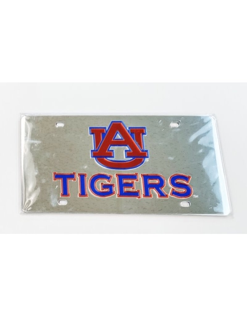 Wincraft AU Tigers Mirror Plastic Plate, Silver