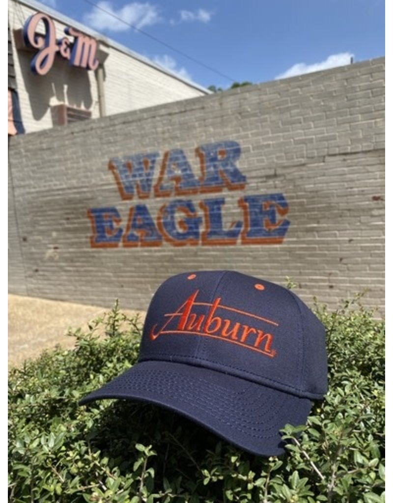 The Game Classic Auburn Navy Throwback Hat