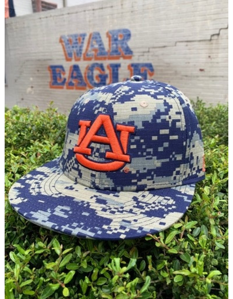 The Game AU Digital Camo Sized Flatbill Baseball Hat