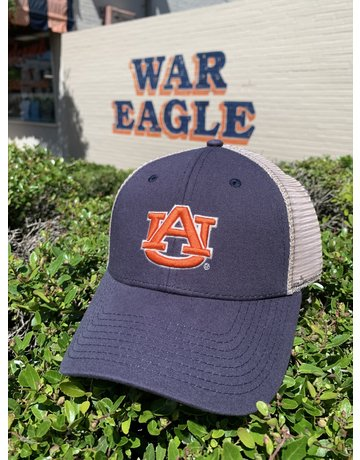 The Game AU Navy Hat with Khaki Mesh