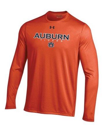 Under Armour Auburn Tigers AU Long Sleeve Tech T-Shirt