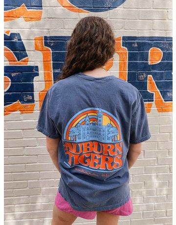Image One Auburn Tigers Rainbow Samford Hall T-Shirt