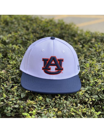 Under Armour Under Armour 2 Tone White and Navy Baseball Hat