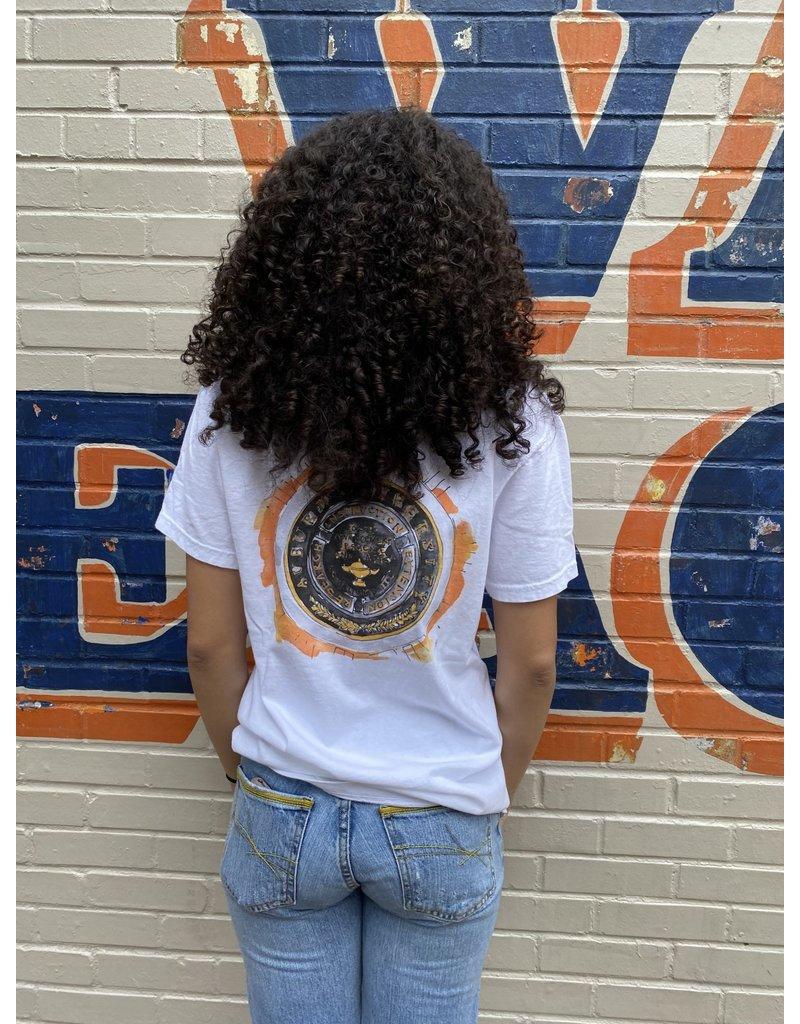 MV Sport Watercolor Auburn University Seal Design Pocket T-Shirt