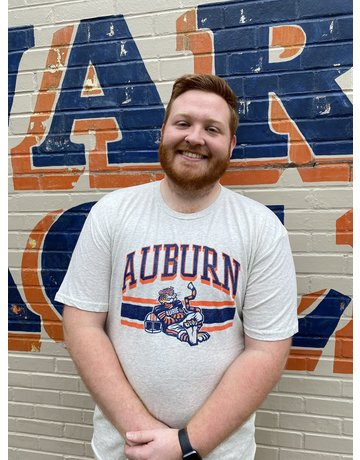 Blue 84 Auburn Vault Football Aubie Tri-Blend T-Shirt