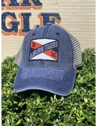 Legacy Auburn Tigers State Flag Patch Two-Tone Mesh Hat