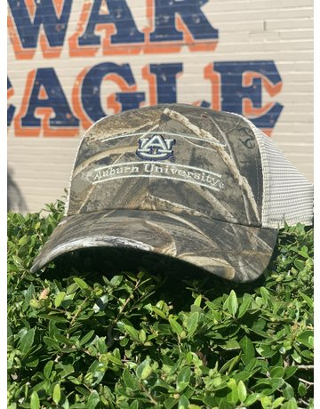 The Game AU Auburn University Three Bar Mesh Hat, Camo