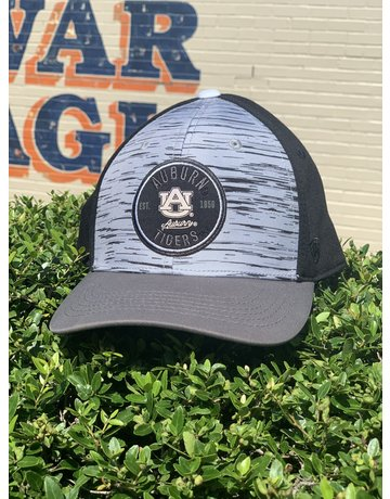 Top of the World Auburn AU Tigers Round Patch Diffuse One-Fit Hat
