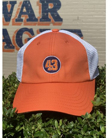 Lutz Foundation Lutz 43 Circle Mesh Hat Orange