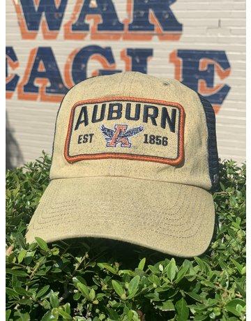 47 Brand Auburn Est 1856 Eagle Thru A Two Tone Navy Mesh Hat