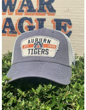 47 Brand Auburn AU Tigers Patch Two Tone Trucker Mesh Hat