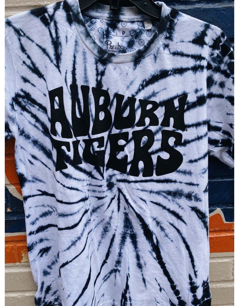 Pressbox Psychedelic Auburn Tigers Tie Dye T-Shirt