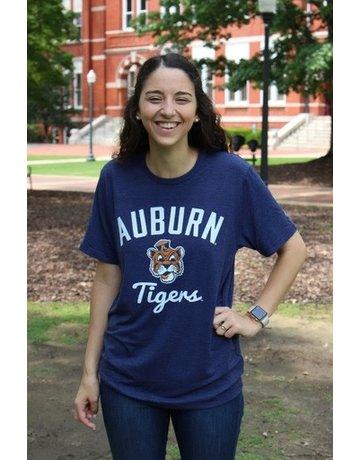 League Auburn Vintage Aubie Tigers Tri-Flex T-Shirt