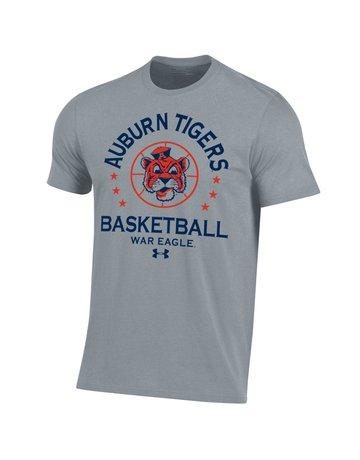 Under Armour Arch Auburn Tigers  Vintage Aubie Basketball T-Shirt