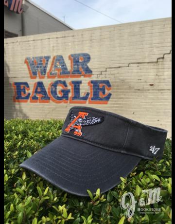 47 Brand Eagle Through A Vintage Navy Visor