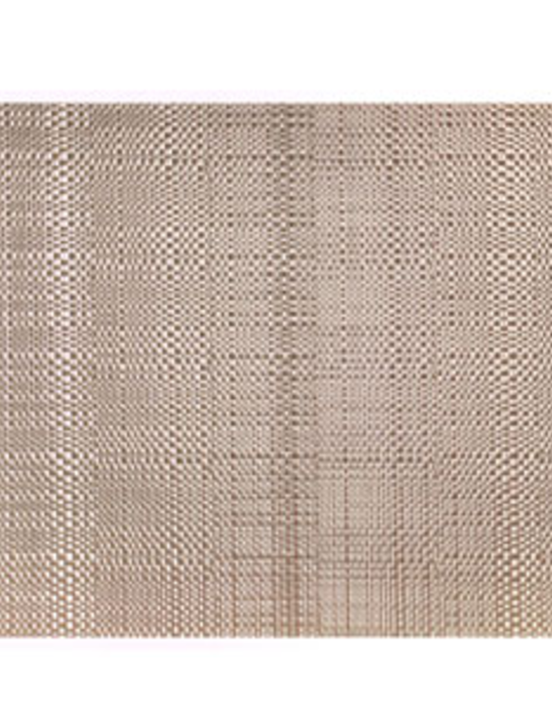 "Trace Basketweave Placemat Set/4 - Natural - 13"" x 19"""