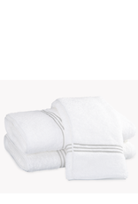 Matouk Bel Tempo Bath Towel - Silver