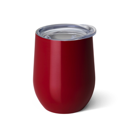 Swig Swig Stemless 14oz Wine Cup - Crimson