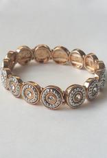 Leah Goldtone Bracelet