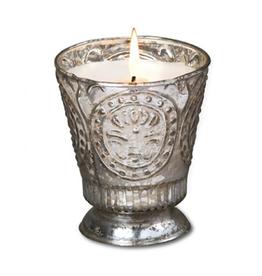 Himalayan Trading Post Fleur de Lys Candle - Honeysuckle