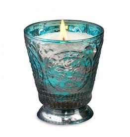 Himalayan Trading Post Fleur de Lys Candle - Rainbarrel