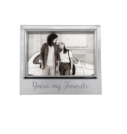 """Mariposa You're My Favorite Signature Statement Frame  - 4""""x6"""""""