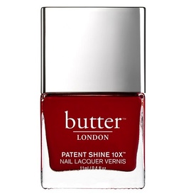 Butter London Her Majesty Red Patent Shine 10X Nail Lacquer