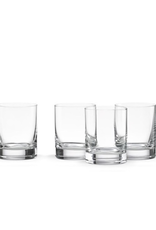 Lenox Tuscany Classics 4-piece Cylinder Double Old Fashioned Glass Set