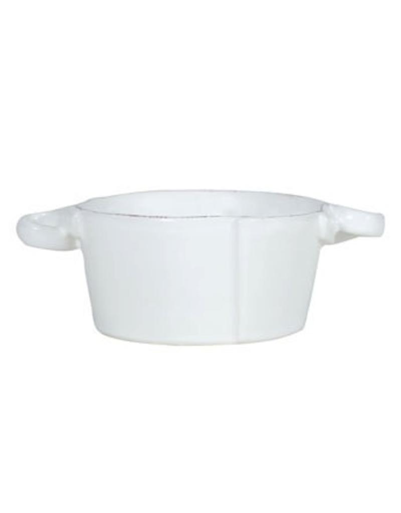 Vietri Lastra Small Handled Bowl
