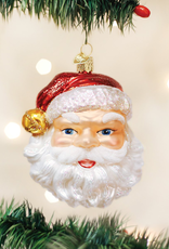 Old World Christmas Jingle Bell Santa Ornament