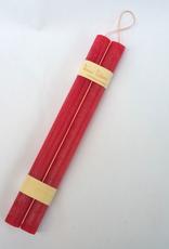 "Vance Kitira Timber Taper Candles - 12"" - Cranberry"