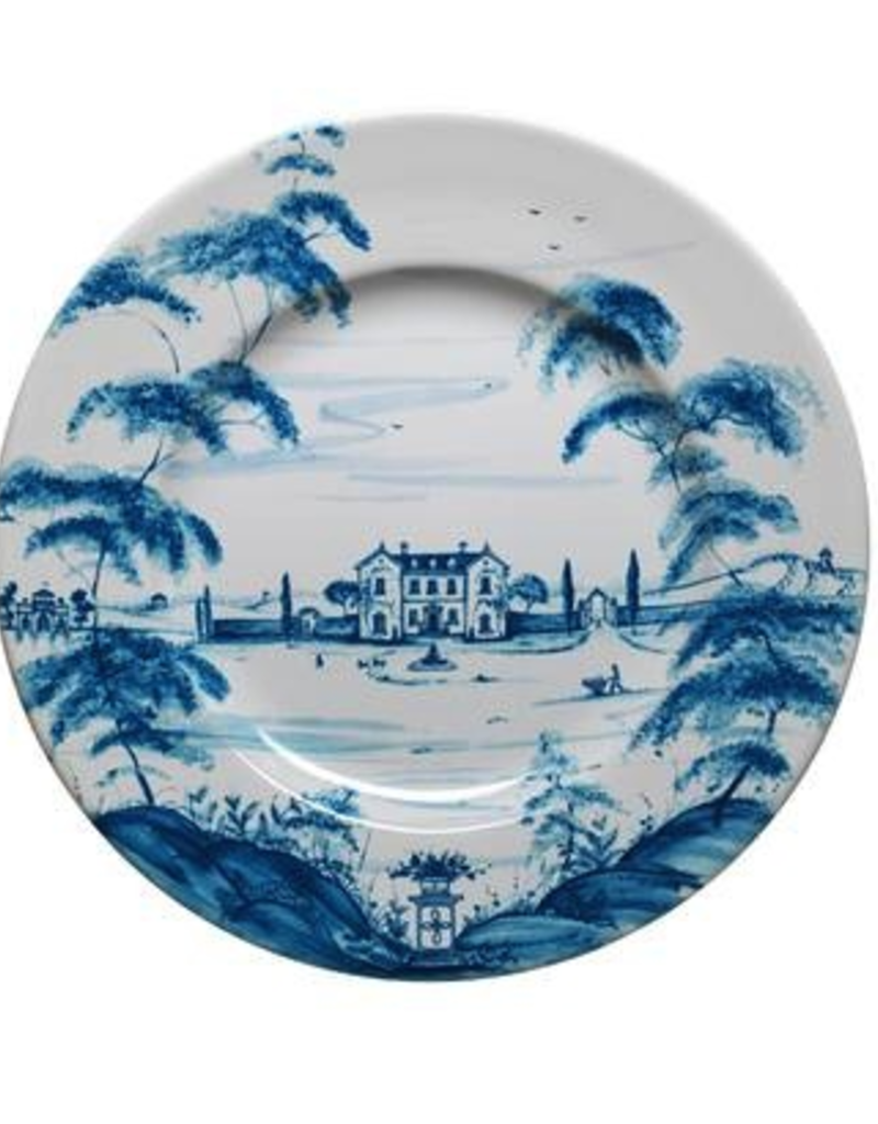 Juliska Country Estate Dinner Plate Main House Delft Blue