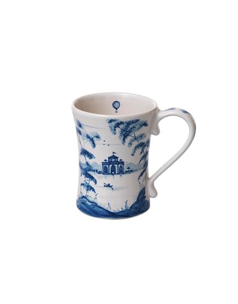 Juliska Country Estate Mug - Delft Blue - 3.5''W x 4.5''H - 12 Oz.