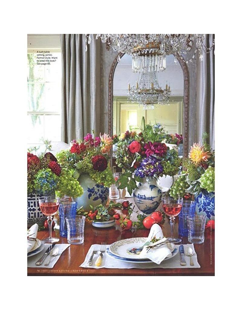 Juliska Country Estate Charger/Server Plate Main House - Delft Blue