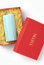 Vietri Lastra Medium Vase Gift Box - Aqua
