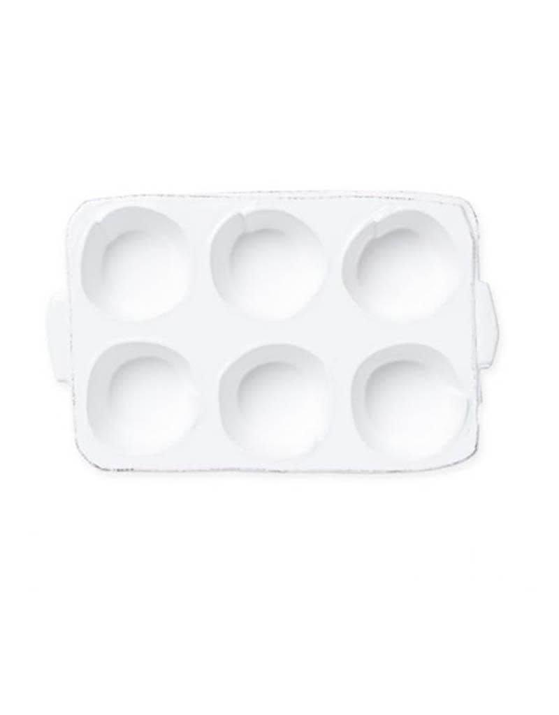 Vietri Lastra Muffin Tin