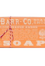 Barr Co. Triple Milled Bar Soap - Blood Orange Amber - 6oz