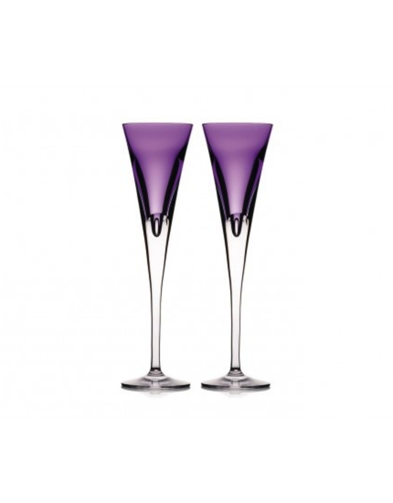Waterford Waterford W Flute - Heather - Set of 2 - Discontinued