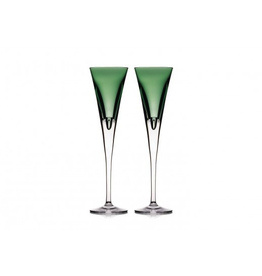 Waterford Waterford W Flute  - Fern - Set of 2 - Discontinued