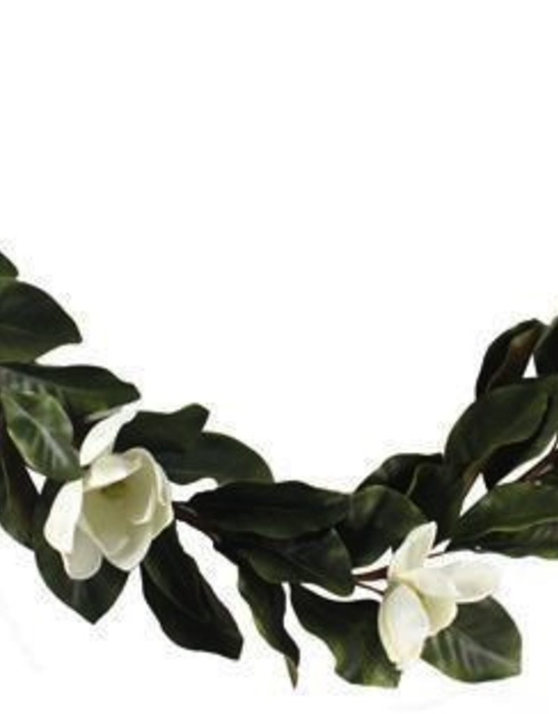 Magnolia Garland - 6'