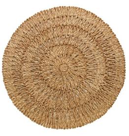 Juliska Straw Loop Round Placemat - Natural