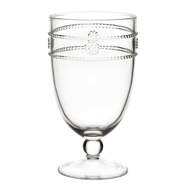 Juliska Isabella Acrylic Goblet - 6.5''