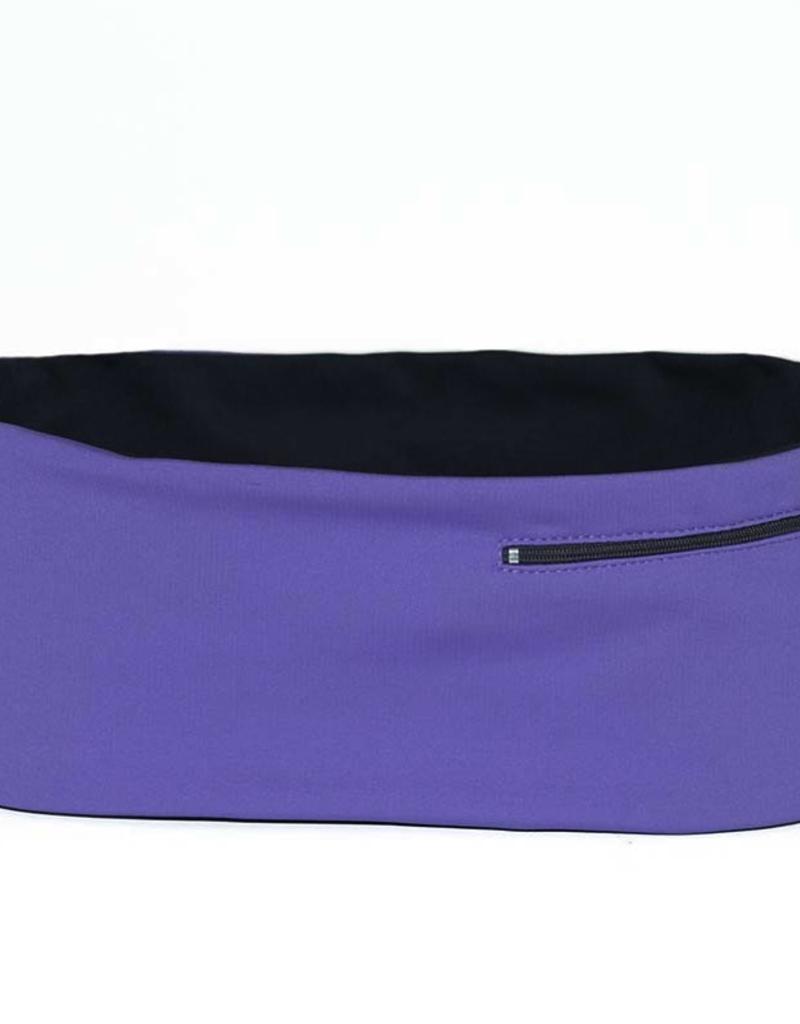 Hips Sister Left Coast Hips Sister Reversible Belt - Violet/Carbon - Size C
