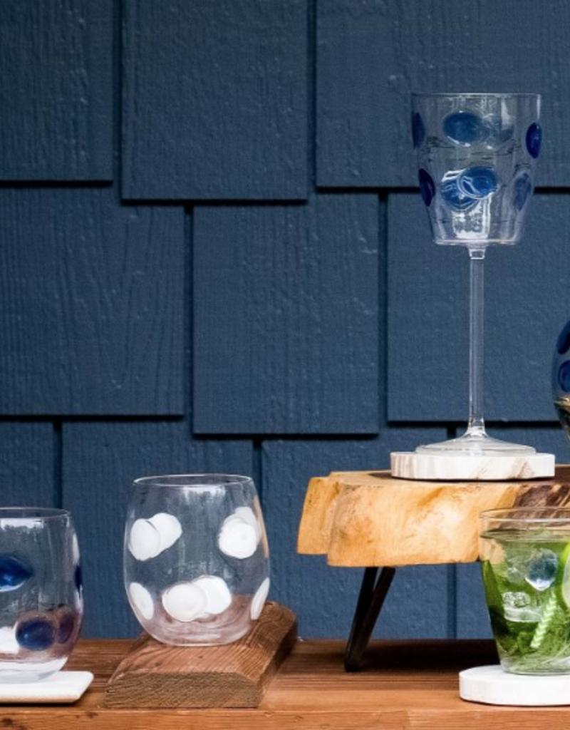 Vietri Drop Stemless Wine Glass