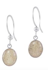 Dune Jewelry Small Sandrop Earrings - Crescent Beach