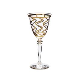 Vietri Elegante Wine Glass - Swirl - Discontinued